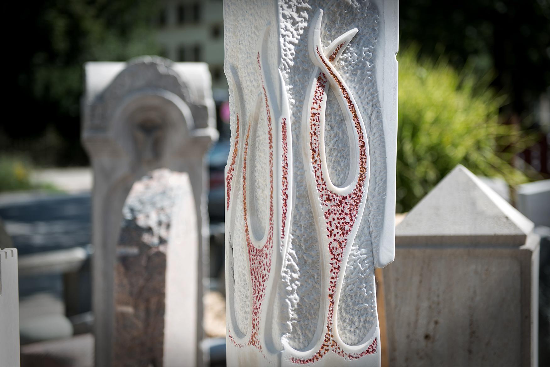 kunstvoller Stein von Braun + Kohler Steinmetz