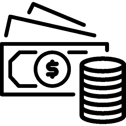 Symbol Geld, Braun + Kohler