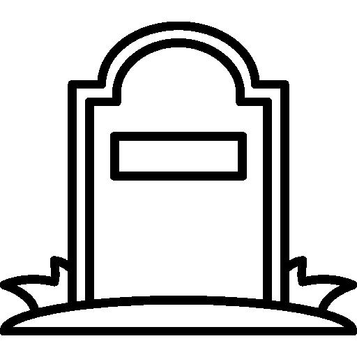 Symbol Grabstein, Braun + Kohler